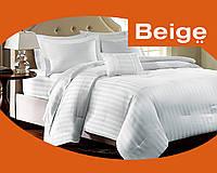 Комплект постельного белья 100% хлопок (сатин) цвет белый, размер Полуторный