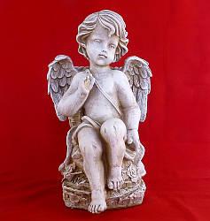 Ангел с корзиной 32 см СП507-3 беж