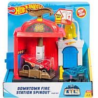 """Трек Hot Wheels """"Пожарная станция"""" серии City, FMY95/FMY96"""