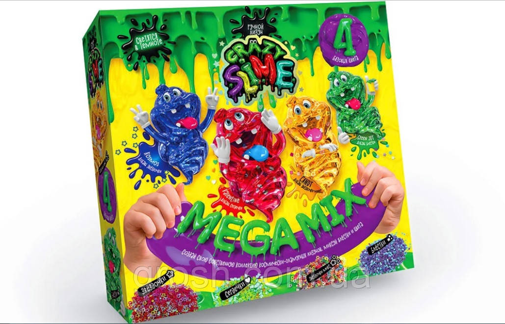 """Набор для опытов """"Crazy Slime"""""""