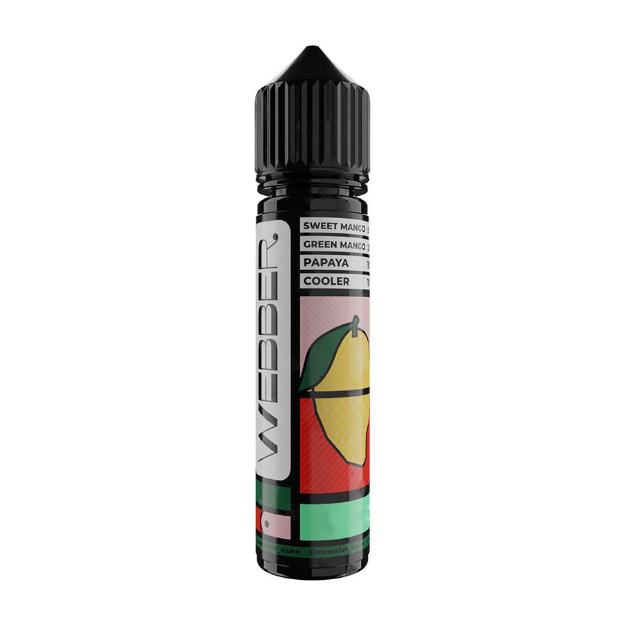Жидкость Men's Club Webber Mango Papaya 3 мг 60 мл