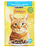 Purina Friskies Корм для котов и кошек. Лосось в подливе, 85гр