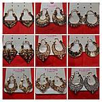 Новые позолоченные серьги, кресты, серьги Сваровски, кожаные браслеты. Заказ от 500 грн!