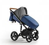 Универсальная детская коляска Verdi Orion 2 в 1 Deep blue, фото 4
