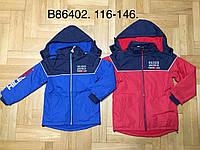 Куртка на флисе для мальчиков оптом, Grace, 116-146 см,  № В86402, фото 1