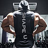 """Мужская жилетка с капюшоном """"GA Fitness Wolf"""", фото 2"""