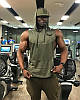 """Мужская жилетка с капюшоном """"GA Fitness Wolf"""", фото 3"""