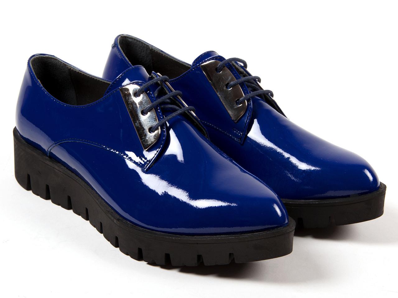 Туфлі Etor 5062-2557-3250-1 38 сині
