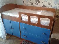 Кровать чердак Фила, масив береза, ольха
