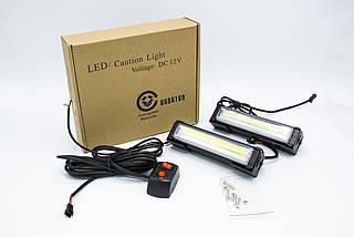 Стробоскопы LED 868A169 / COB1-2 / Сине - Красные (В/Г/Д - 36х41х157мм), фото 3