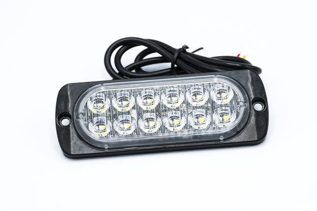 Сигнальные LED WARNING LIGHT/12LED/18 Режимов/Синий/10v-30v, фото 2