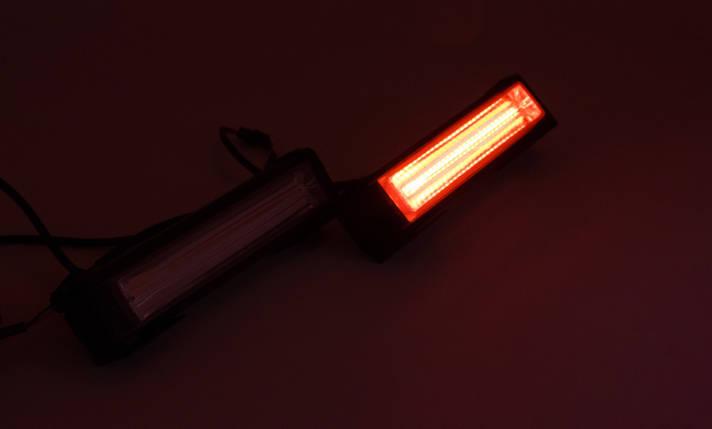 Стробоскопы LED 868A169 / COB1-2 / Сине - Красные (В/Г/Д - 36х41х157мм), фото 2