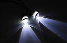 Стробоскопы ангельские глазки  LED MY-101 - 2 EYEs ( Белые ) / 2шт