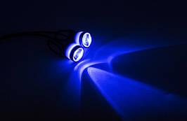Стробоскопы ангельские глазки  LED MY-101 - 2 EYEs ( Синие ) / 2шт