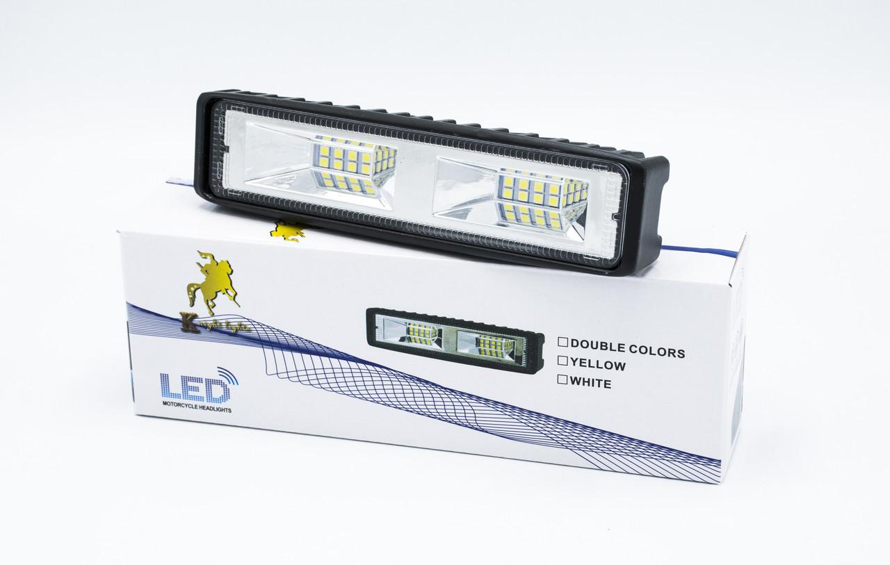 """Фара дополнительного света """"LED light bar - 01"""" / метал. корпус / 1шт"""