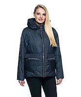 Куртка демисезонная 10-103 - синий: 44,46,48,50,52,54,56, фото 1