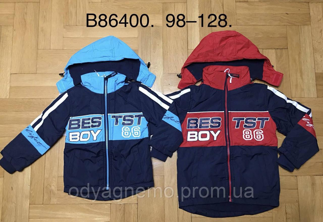 Куртка на флисе для мальчиков Grace оптом, 98-128 рр. Артикул: B86400
