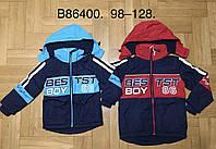 Куртка на флисе для мальчиков Grace оптом, 98-128 рр. Артикул: B86400, фото 1