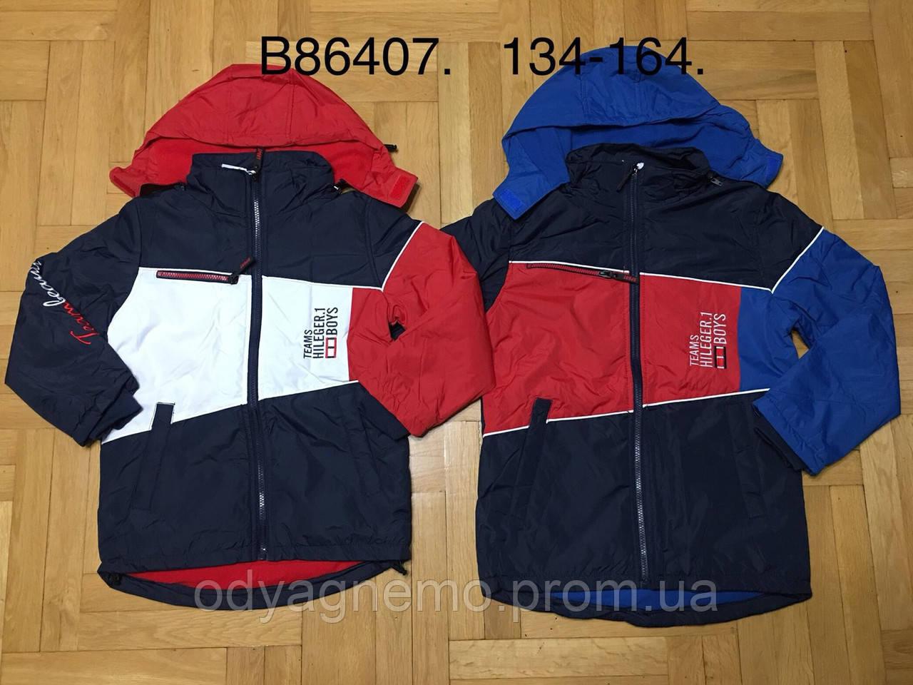 Куртка на флисе для мальчиков Grace оптом, 134-164 рр. Артикул: B86407