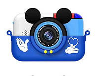 Детский цифровой фотоаппарат Smart Kids Cam TOY 6 Mouse Blue