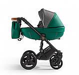 Универсальная детская коляска Verdi Orion 2 в 1 Dark green, фото 2