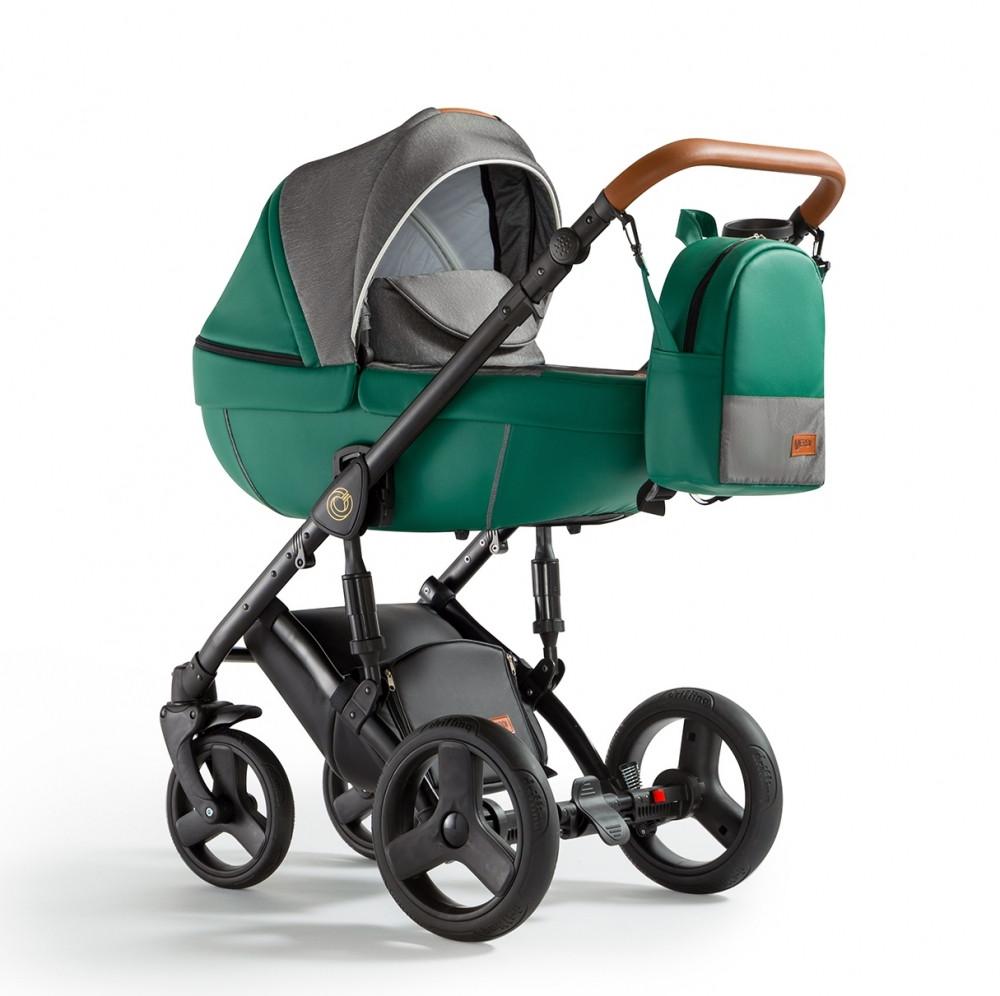 Универсальная детская коляска Verdi Orion 2 в 1 Dark green