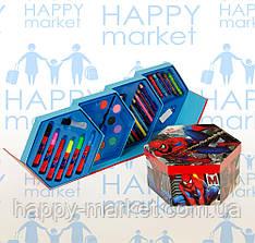 Набор для детского творчества Человек Паук (46 предметов) шестигранный