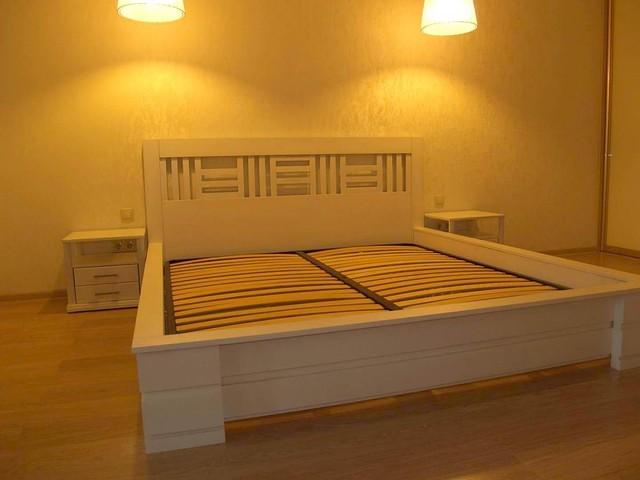 """Кровать и две тумбочки """"Рим"""""""