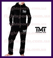 "Спортивный костюм THE MONEY TEAM BLACK  Чоловічий спортивний костюм  ""В стиле"" Черный Розница ОПТ"