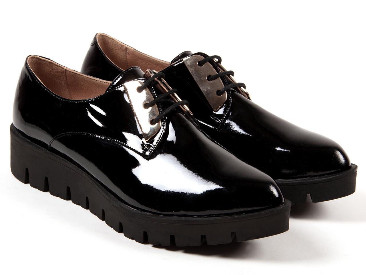 Туфли Etor 5062-2557-3250-2 37 черные
