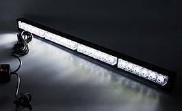 Стробоскопы LED БАЛКА NEW  60см/ COB1-4 / Белые (В/Г/Д - 36х41х 600мм)