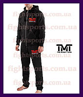 "Мужской Спортивный костюм THE MONEY TEAM BLACK-RED Чоловічий спортивний костюм  ""В стиле"" Черный"