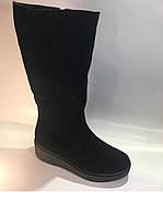 Зимние женские сапоги на широкую ногу тмRoss