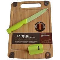 Набор Hilton SBS+5U+KS1 доска, нож и точилка