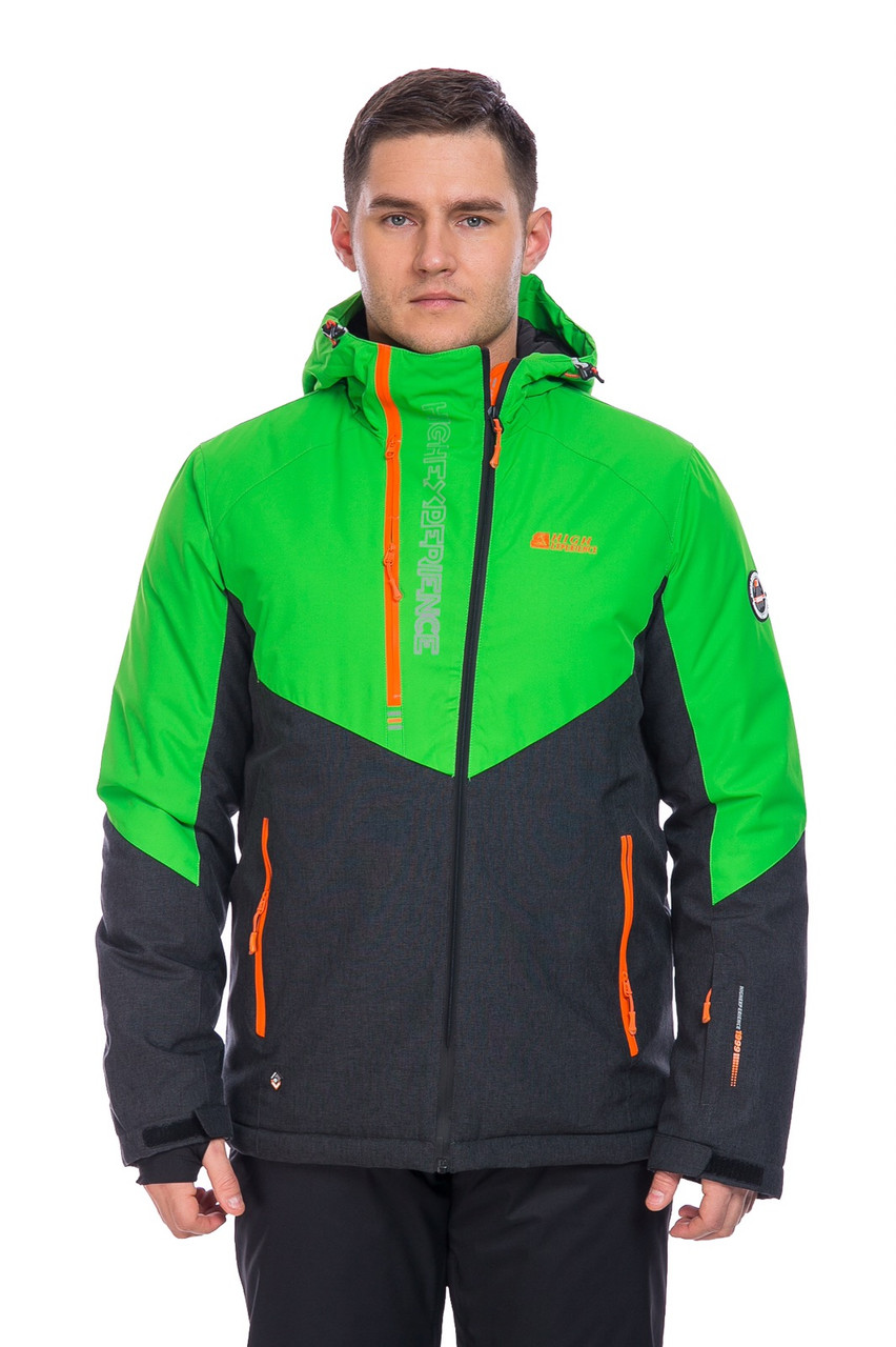 Мужская горнолыжная Куртка High Experience зеленый XL