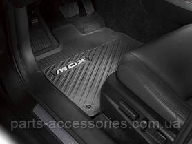 Acura MDX 2014 коврики резиновые передние задние новые оригинал комплект