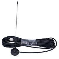 Антенна внешняя всенаправленная 5дБи на 10м кабеле GSM 3G 4G 900-2600МГц