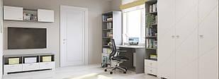 Комплект подростковой мебели  Х-Скаут-5 белый мат