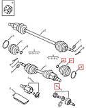 ШРУС наружный Geely CK/CK2 1.5L (Z 24/Z 30), фото 2