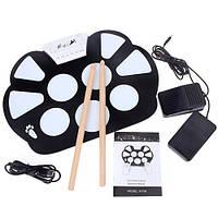Барабаны электронные USB гибкие барабанная установка пэды Konix W758