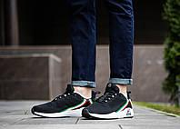 Мужские кроссовки Сааб Фаер Италия (черные)