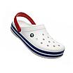Crocs Crocband White/Blue, фото 3