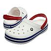 Crocs Crocband White/Blue, фото 2