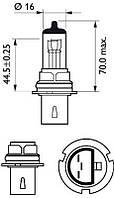 Philips 9004C1 Лампа накаливания, фара дальнего света, Лампа накаливания, основная фара, Лампа накал