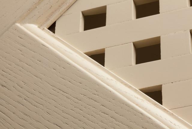 Фасад в стиле кантри, Бьянка, глубокие поры