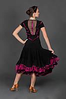 Тренировочная юбка для латино-американской программы. «Парижанка»