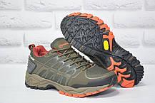Чоловічі кросівки для туризму на мембрані Restime хакі