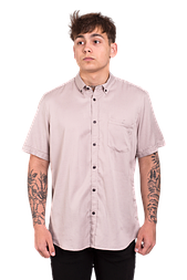 Чоловіча сорочка з коротким рукавом Lerros 204 бежева