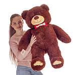 Плюшевий ведмедик Mister Medved Бурий 110 см, фото 2