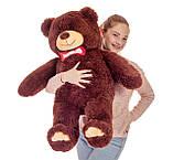 Плюшевий ведмедик Mister Medved Бурий 110 см, фото 4